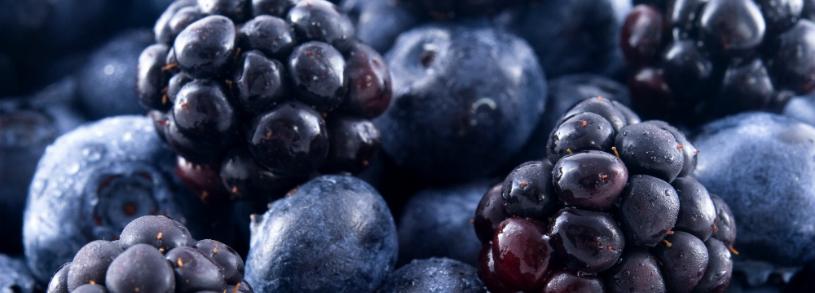 Substante active in fructe si legume violet