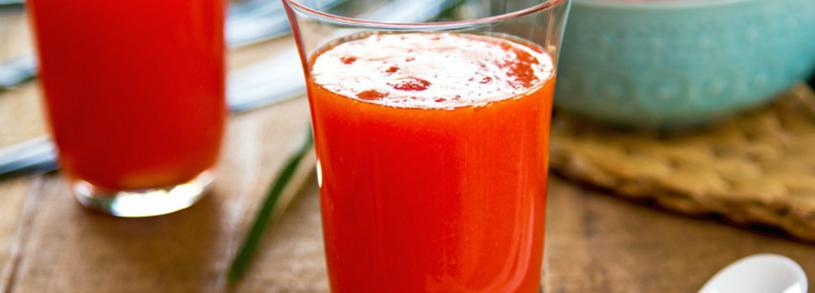 Suc de grepfrut, zmeura si papaya