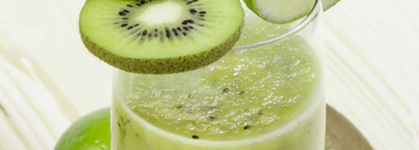 Suc de pere, kiwi si lamaie